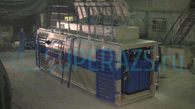 АЗС (КАЗС) для силовых структур - подготовка к отправке