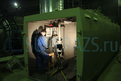 Монтаж электрооборудования КАЗС