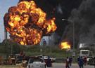 Возгорание на нефтеперерабатывающем заводе в Венесуэле