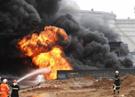 Взорвался резервуар в Азербайджане